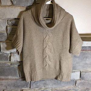 Willi Smith Tan Sweater Small